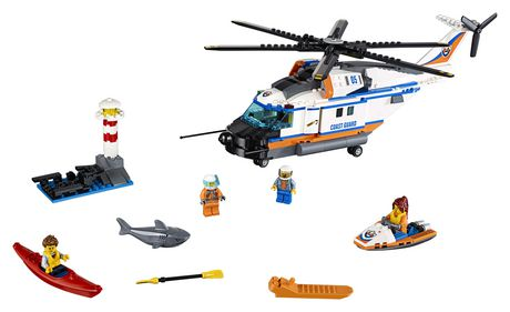 LEGO City Coast Guard - Heavy-duty Rescue Helicopter (60166) - image 5 of 5