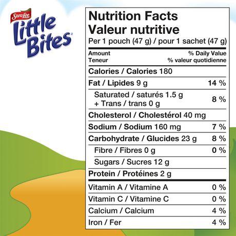 Sara Lee® Little Bites™ Banana Muffins - image 7 of 7