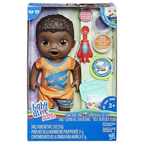 Baby Alive Super Snacks Luc B 233 B 233 Glouton Aa Walmart