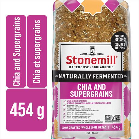 Stonemill Chia And Supergrains Bread