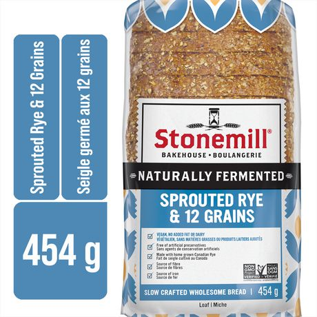 Stonemill Sprouted Rye And 12 Grain Bread
