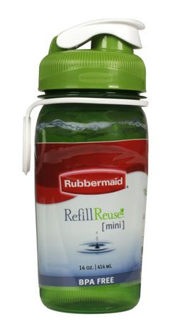 Rubbermaid 20 oz Reuse Plastic Chug Bottle - image 2 of 3