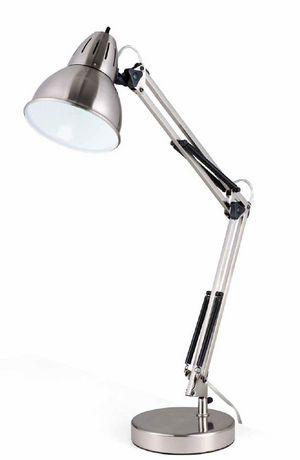 Captivating Brushed Nickel Architect Swing Arm Desk Lamp