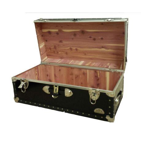 everlite x large metal storage trunk with cedar lining walmart canada