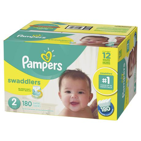 Pampers Swaddlers Diapers - Econo Plus Pack - image 4 of 7