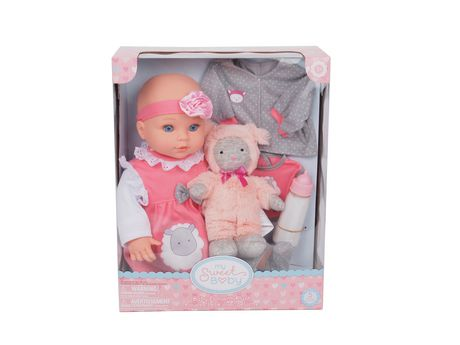 my sweet baby 16 deluxe doll with plush walmart canada