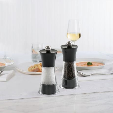 Ensemble de moulins sel et poivre fiesta de trudeau for Accessoires cuisine trudeau