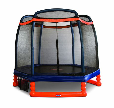 Little Tikes 7' Trampoline with Safety Enclosure - image 1 of 3