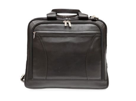 Ashlin Leather Laptop Briefcase with Front Organizer d825a197c71f