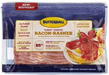 Butterball Applewood Smoked Turkey Bacon - image 1 of 1