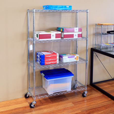 Seville Classics 4 Shelf Shelving Systems - image 2 of 2