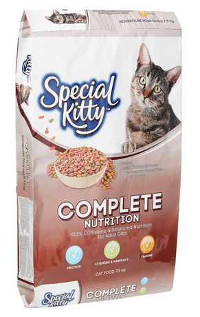 Special Kitty Complete Nutrition Dry Cat Food - image 1 of 3