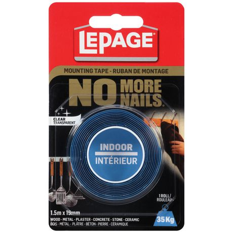 LePage No More Nails Mounting Tape - image 1 of 1