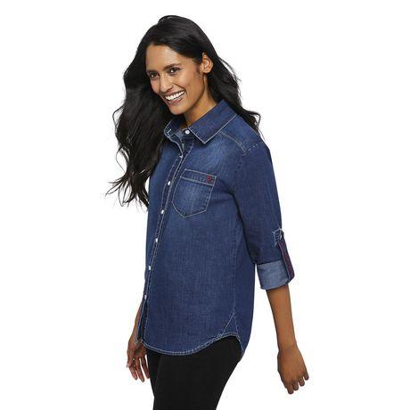 Love Ellen DeGeneres Chemise en jean pour femmes - image 2 de 6