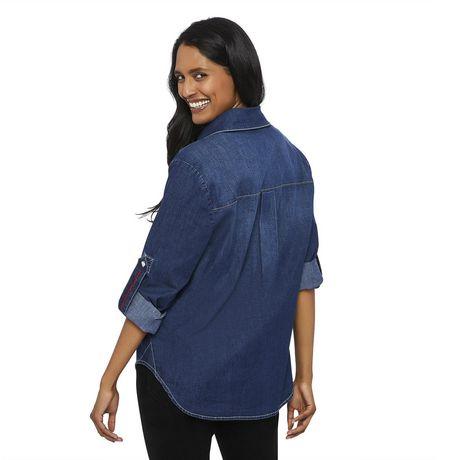 Love Ellen DeGeneres Chemise en jean pour femmes - image 3 de 6