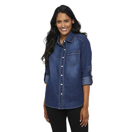 Love Ellen DeGeneres Chemise en jean pour femmes - image 1 de 6