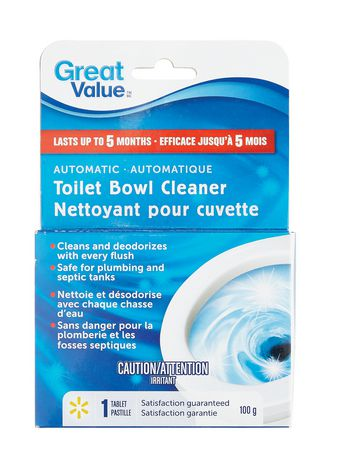 Great Value Automatic Toilet Bowl Cleaner Walmart Ca