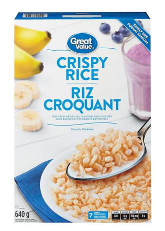 Great Value Family Size Crispy Rice - image 1 of 3