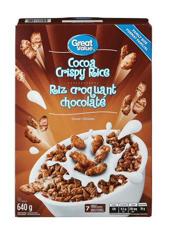 Great Value Family Size Cocoa Crispy Rice - image 1 of 3