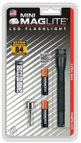 Mag Maglite Led 2 Cell Aaa Black