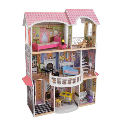 Kidkraft majestic mansion dollhouse walmart canada - Casa in canapa costo ...