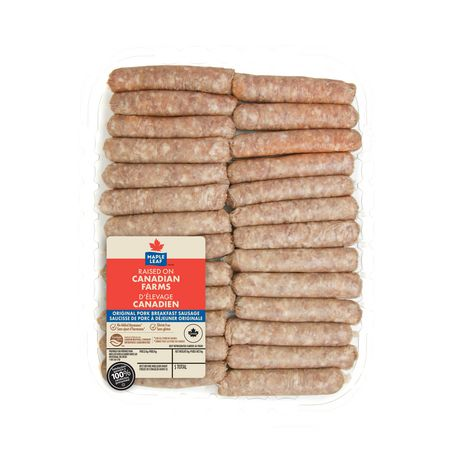 Maple Leaf Original Pork Breakfast Sausage - image 2 of 2