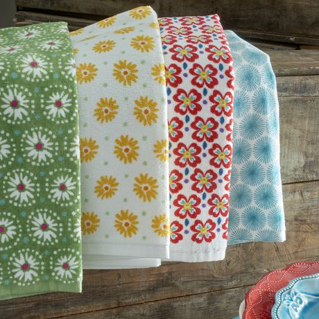 The Pioneer Woman Flea Market Kitchen Towel Set - image 2 of 2
