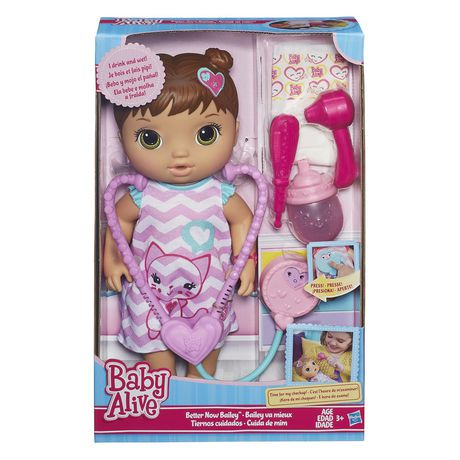 Baby Alive Better Now Bailey Brunette Playset Walmart Canada