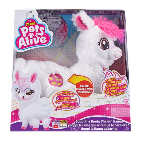 Pets Alive Boppi the Booty Shakin Llama Battery-Powered Dancing Robotic Toy by ZURU - image 2 of 9