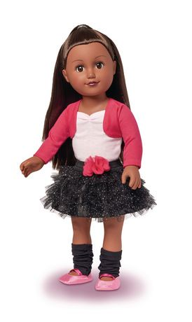 My Life As 18 Inch African American Ballerina Doll