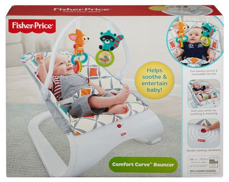 fisher price comfort curve bouncer instructions