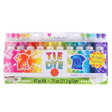 Tulip Create Basics 10-Colour Tie Dye Party Kit - image 1 of 1