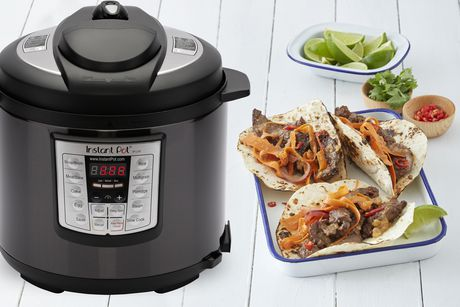 Instant Pot 6 quart Lux Black Stainless - image 2 of 6