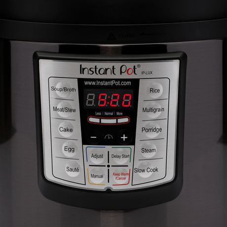 Instant Pot 6 quart Lux Black Stainless - image 4 of 6