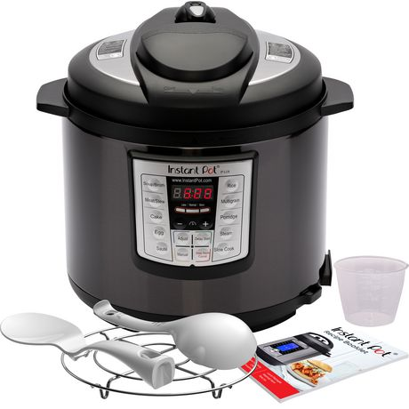 Instant Pot 6 quart Lux Black Stainless - image 3 of 6
