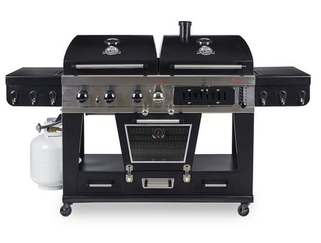 Pit Boss Memphis Ultimate 4-in-1 Gas/Charcoal Smoker - image 1 of 8