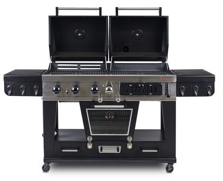 Pit Boss Memphis Ultimate 4-in-1 Gas/Charcoal Smoker - image 2 of 8