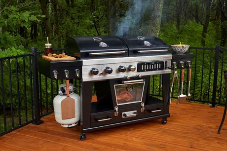 Pit Boss Memphis Ultimate 4-in-1 Gas/Charcoal Smoker - image 4 of 8