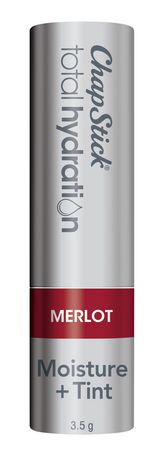 ChapStick Total Hydration (Merlot, 1 Blister Pack) Lip Balm, Moisture & Tint, Hint of Colour - image 3 of 4