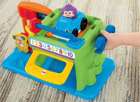 Puppy Learn Garage Jouet De Laughamp; Rires Et Éveil Price Fisher cj34LAS5Rq