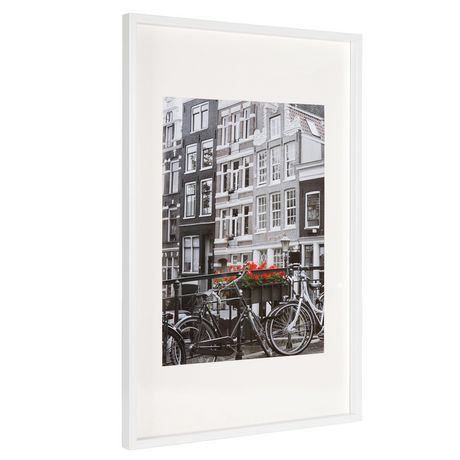 hometrends white macintyre poster frame walmart canada