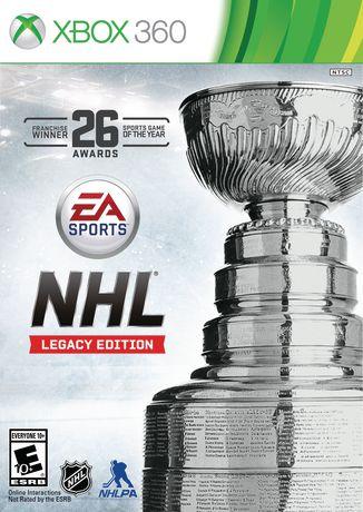 Nhl Legacy Edition Xbox 360 Walmart Canada
