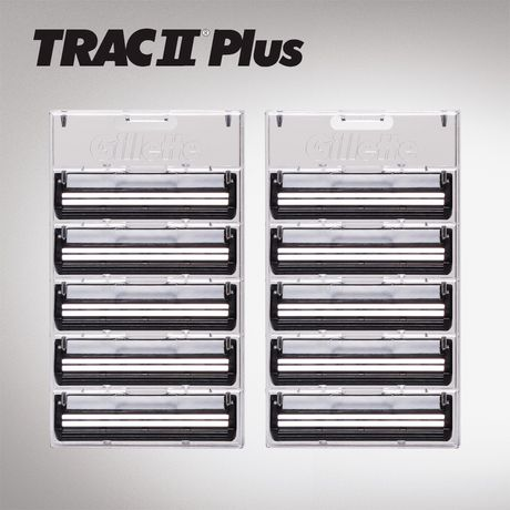 Gillette TRAC II Plus Razor Blade Refill Cartridges - image 4 of 7
