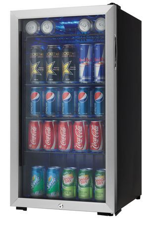 Danby Beverage Fridge 3 3 Cu Ft Dbc120cbls Walmart Canada