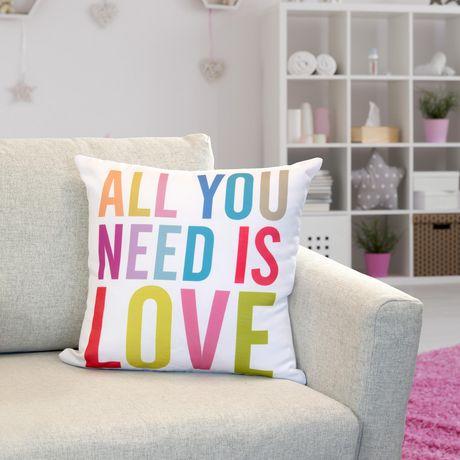 Lindsay Stephenson All You Need Decorative Throw Cushion - image 1 of 1