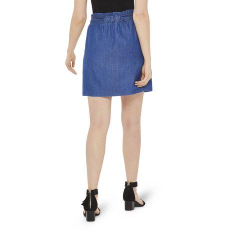 George Women's Paperbag Mini Skirt - image 3 of 6