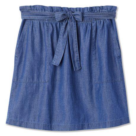 George Women's Paperbag Mini Skirt - image 6 of 6