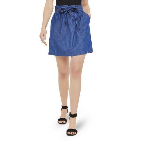 George Women's Paperbag Mini Skirt - image 1 of 6