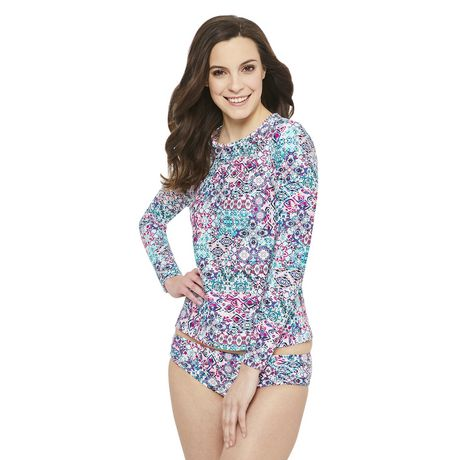 George Women's Rash Guard - image 1 of 6