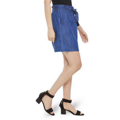 George Women's Paperbag Mini Skirt - image 2 of 6